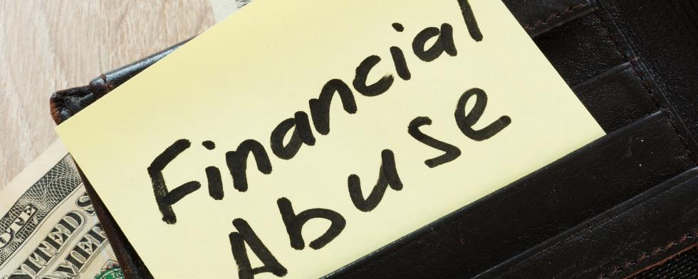 Standing in Financial Elder Abuse Cases